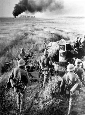 Crossing the frontier on 22nd June 1941